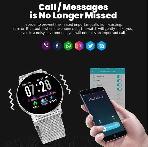 NY03 Smart Watch Message call reminder Waterproof Smartwatch